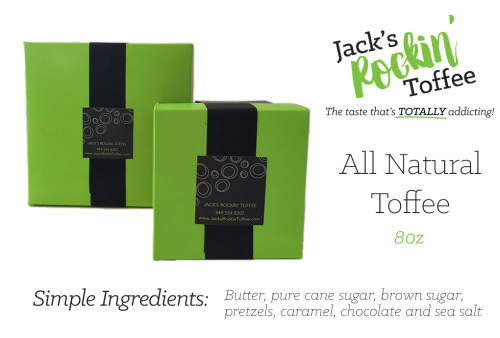 8oz toffee packages