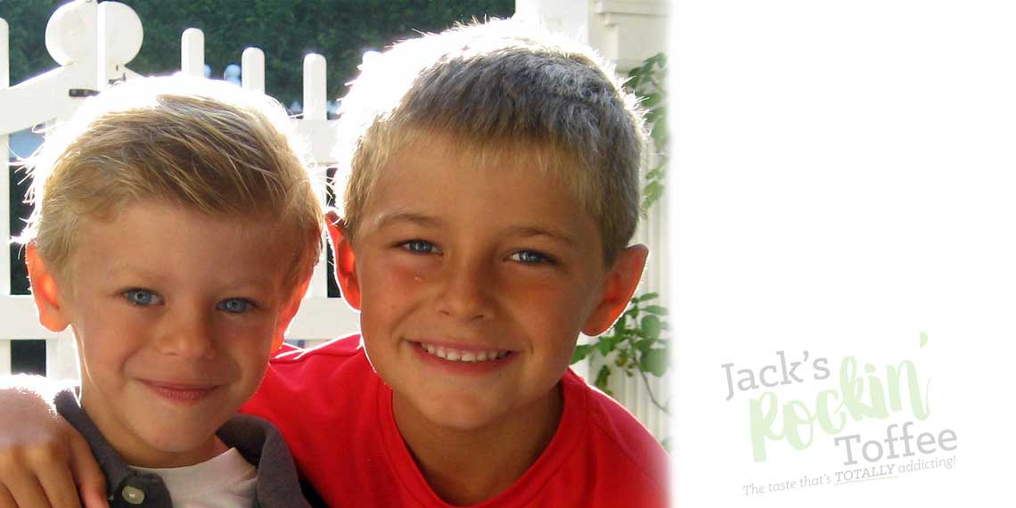 Slider Image: Jack and little brother Colin